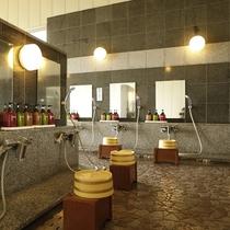 館内温泉浴場【洗い場】
