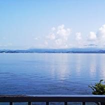 客室(3階 宍道湖側)からの景観