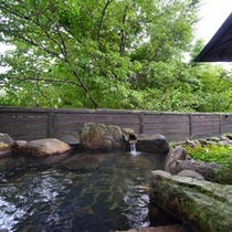 ■風流やすらぎの湯/天然温泉掛け流しの湯をお楽しみくだささい