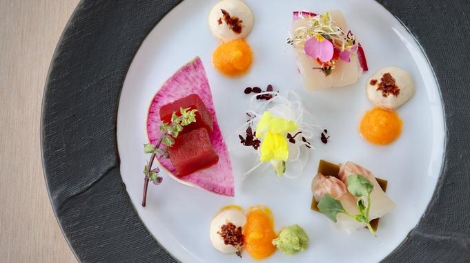 【夕食7,500円コース/スタンダード】北海道産の新鮮な旬食材で身体の中から健やかに美しく