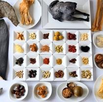 多彩な食材
