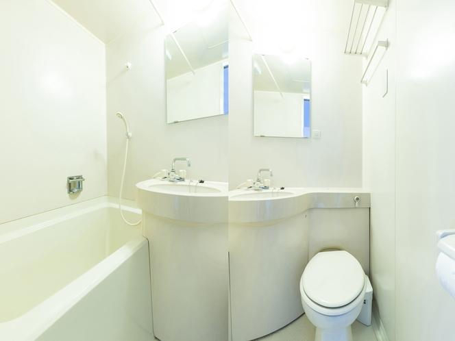 ダブルルーム バス・トイレ