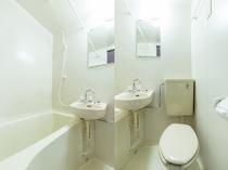 シングルデラックスルーム バス・トイレ