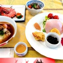 *朝食一例/玉子料理&お魚料理に、こだわりの素材が調和した和朝食を準備いたします。