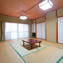 *部屋一例/広々とした和室12畳は、ご家族やグループ様にオススメ!