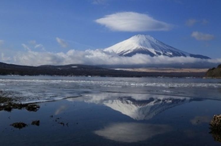 山中湖の景色