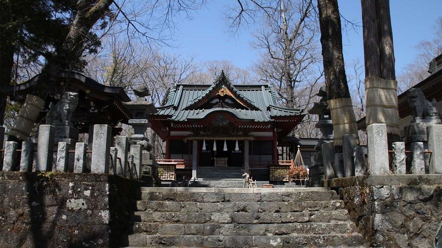 ○山中諏訪神社