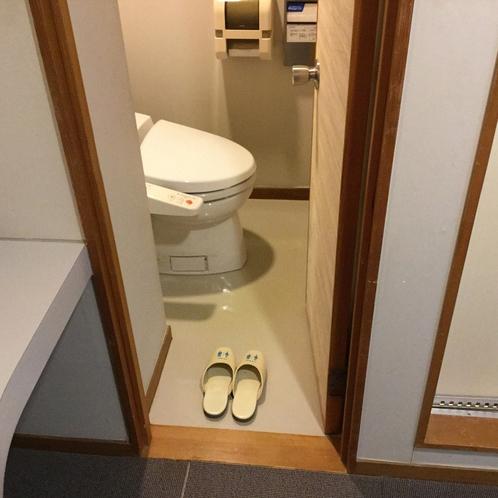 特別和室【禁煙】トイレ