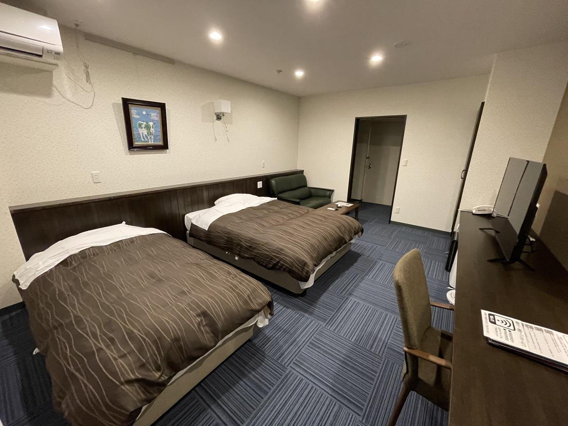 2020年5月リニューアル。別館洋室(ツイン) 305号室※お部屋のご指定はできかねます