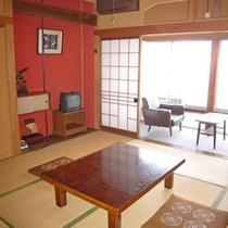 お部屋は畳の香り漂う和室のお部屋です。