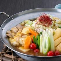 カレーモツ鍋