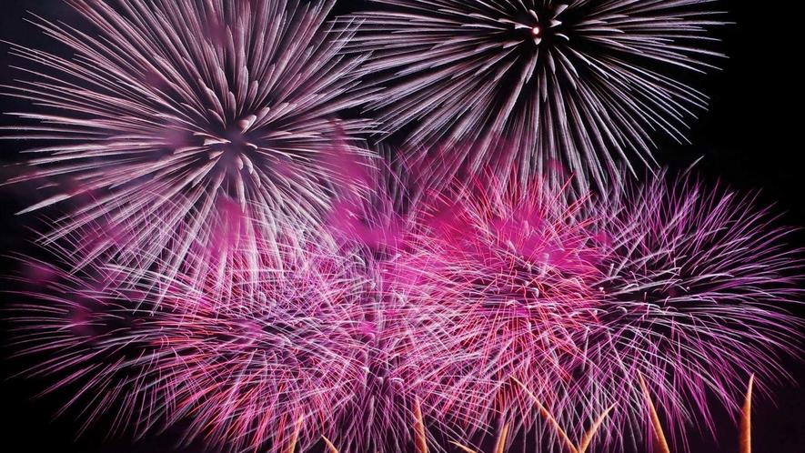 【大曲花火大会】1度は見たい日本の花火にも選ばれる8月の風物詩。当館から会場まではお車で約60分!