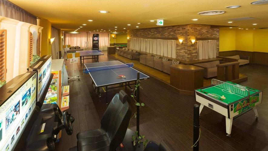 アミューズメントホールには卓球、ダーツ、ビリヤードなどがお楽しみいただけます♪