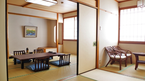 和室10畳+6畳バストイレ付【街側】2〜8名