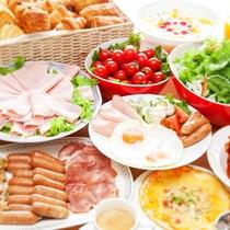 朝食ヴッフェ‗洋食