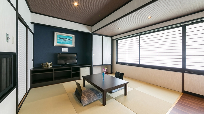 【沖縄Days】東館<ツインベッド+琉球畳>ファミリーでゆったり和洋室ステイ♪(朝食付き)