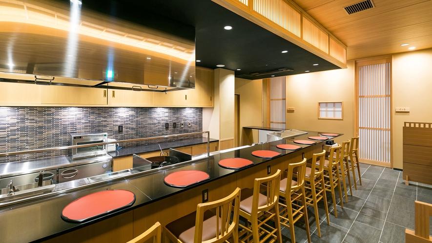 日本料理・ 郷土料理 ひるぎカウンター