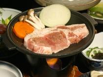 十和田高原ポークの陶板焼き(※写真はイメージです。)