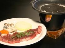 ボリューム満点!和牛のステーキ