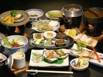 スタンダード和食膳<鮑の陶板焼き>(※写真はイメージです。)