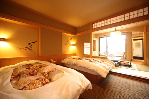 【バリアフリー対応】露天風呂付和洋室