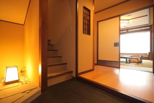 露天風呂付和室 メゾネットタイプ(階段付)