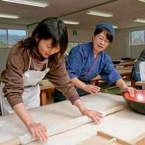 ■【蕎麦打ち体験プラン】信州そば蔵にて蕎麦打ち体験一例