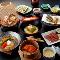 ■和会席料理一例(2013夏)