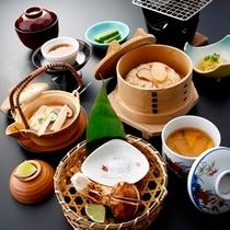■日帰りプランでお楽しみいただく「松茸ランチ」