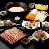 ■信州地鶏三種を食べ較べ♪4時間コトコト煮込んだプロの絶品スープで最後の一滴までどうぞ♪
