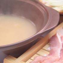 ◇料理長自慢の4時間煮込んだこだわりスープ!(鶏の水炊き)