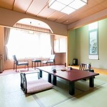 ■【新館・和室10畳】広縁と温水洗浄トイレ付きのお部屋です。