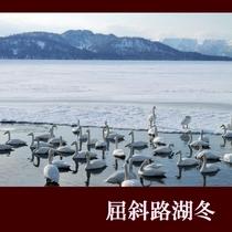 屈斜路湖冬