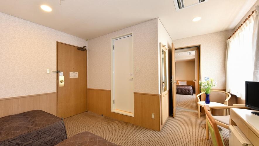 ◆コネクティングルーム 21平米+21平米
