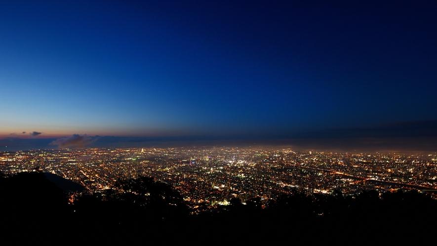 ◆札幌夜景in藻岩山