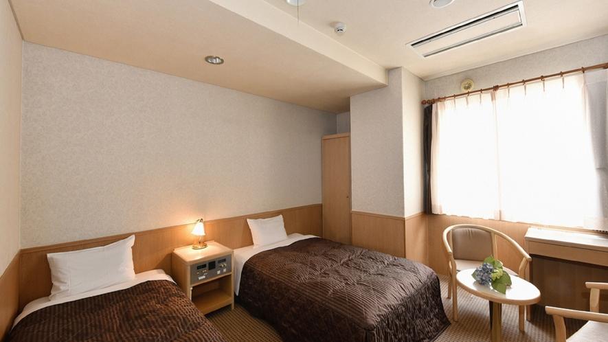 ◆ツインルーム 21平米