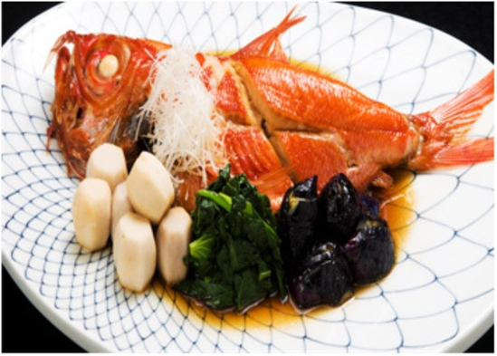 【おめで鯛!!大切な記念日お祝いプラン♪】金目鯛煮付け・ドリンク1杯・プレゼント付き