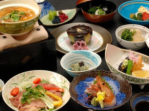 夏の京会席料理