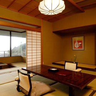 高台に建つ、駿河湾一望の詩季亭【標準室】◆