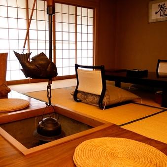 日本庭園の中の離れ【石心亭・海花亭】◆