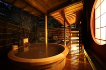 個室温泉露天風呂(本館 石庭)