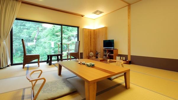 【良景観】滝見亭和室 10畳■Wi-Fi■禁煙室