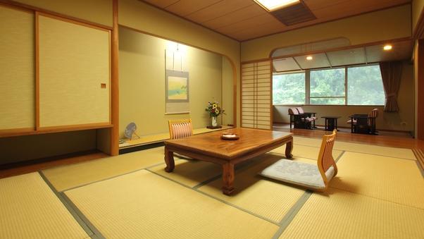【特別室】御風の間12畳+8畳■Wi-Fi完備■禁煙室■