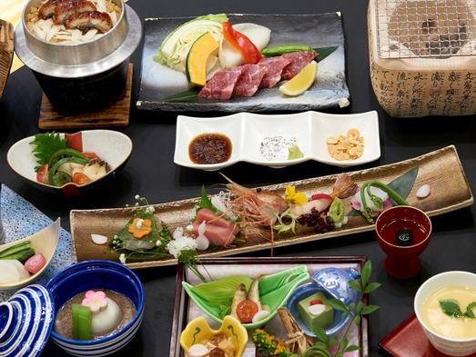 【ご当地牛ステーキ付き】遠州夢咲牛×鰻の釜飯和食会席