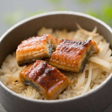 【夏旅セール】【ご当地牛ステーキ付き】遠州夢咲牛×鰻の釜飯和食会席