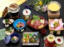 季節の食材を生かした和食会席コース
