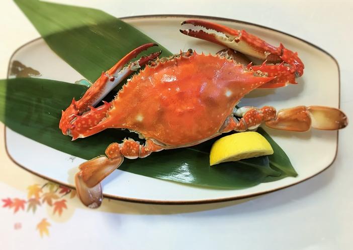 岡山産渡り蟹イメージ