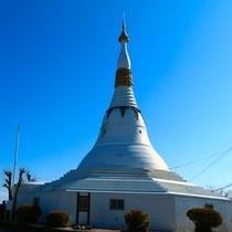 眉山(パゴダ平和記念塔)
