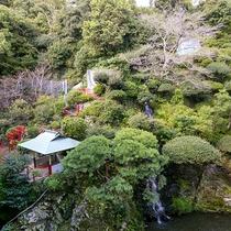 徳島グランドホテル偕楽園 日本庭園