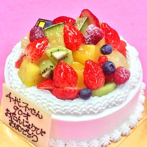 【別注ケーキ】生クリームフルーツ盛り